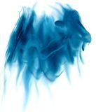 Smoke. Abstract smoke in a form of a horse or a dragon Royalty Free Stock Photography