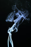 Smoke. Wonderful moments of smoke rising Stock Photo