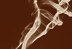 Smoke. The color of the smoke Royalty Free Stock Photography