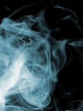 Smoke. Background - Smoke shot with color gels on the flash royalty free stock photography