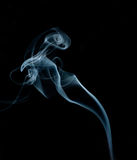 Smoke. From the way the stranger Stock Image