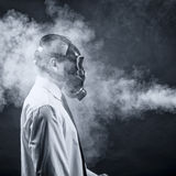 The smoke Stock Photography