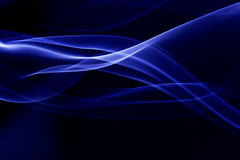 Smoke. A blue silky smoke pattern Royalty Free Stock Photos