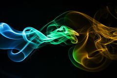 Smoke. Abstract photo to background Stock Photo
