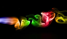 Smoke. Abstract photo to background Royalty Free Stock Photos