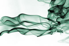 Smoke. Abstract photo to background Stock Image