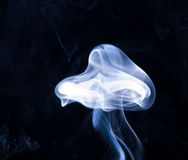 Smoke. Stream of smoke, cold wave on air Stock Images