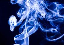 Smoke. Stream of smoke, cold wave on air Stock Photography