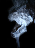 Smoke. Abstract photo to background Stock Photos