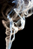 Smoke. Abstractc smoke for background on black Royalty Free Stock Photo