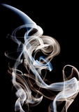 Smoke. Abstractc smoke for background on black Royalty Free Stock Image