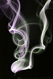 Smoke. Abstractc smoke for background on black Stock Image