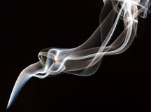 Smoke. Abstractc smoke for background on black Stock Photos