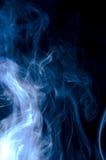Smoke. Real smoke photo isolated on black background Royalty Free Stock Image