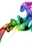 Smoke. Cloud. Turbulences. White background Royalty Free Stock Photography