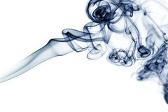 Smoke abstract. Amazing smoke shapes Royalty Free Stock Image