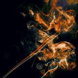 Smoke abstract background Stock Image