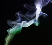 Smoke abstract background Royalty Free Stock Images