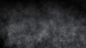 smoke abstract black background 4k