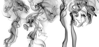 Smoke - abstract picture Stock Photos
