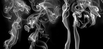 Smoke - abstract picture Stock Photography