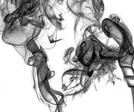 Smoke - abstract picture Royalty Free Stock Images