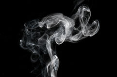 Smoke abstraction Stock Photography
