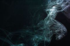 Smoke abstraction Stock Photo