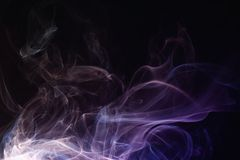 Smoke abstraction Royalty Free Stock Photography