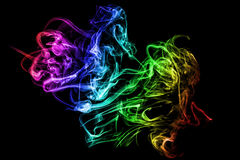 Smoke abstraction. Stock Image
