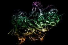 Smoke abstraction. Stock Image