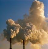 Smoke. Stock Image