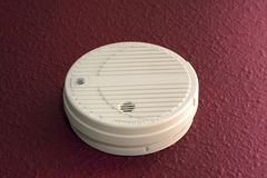 Smoke Alarm Stock Photo