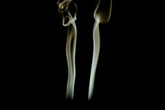 Smoke art background Stock Image