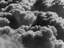 Smoke in atmosphere Royalty Free Stock Image