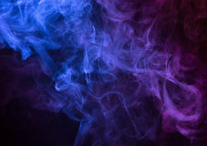 Smoke background Stock Image