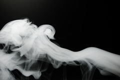 Smoke background and dense fog Royalty Free Stock Images