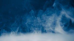 Smoke background and dense fog Royalty Free Stock Photography