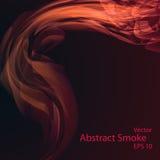 Smoke background elegant. Smoke background eps10, vector elegant wave Stock Image