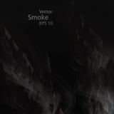 Smoke background elegant. Smoke background eps10, vector elegant wave Stock Photo