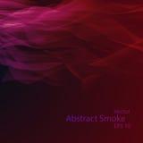 Smoke background elegant. Smoke background eps10, vector elegant wave Royalty Free Stock Photo