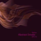 Smoke background elegant. Smoke background eps10, vector elegant wave Royalty Free Stock Photos