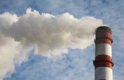 Smoke billowing Stock Photography