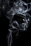 Smoke on black Stock Photography