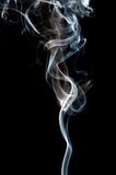 Smoke from black Royalty Free Stock Images