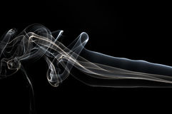 Smoke black Royalty Free Stock Images