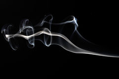 Smoke black Stock Photos