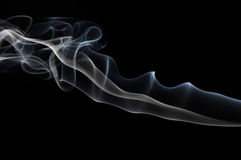 Smoke black Royalty Free Stock Photo