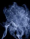 Smoke on black background Royalty Free Stock Image