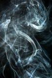 Smoke on a black background Stock Photography